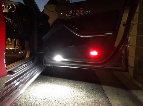 メルセデスベンツCLAクラス C117・X117/Epistar 3030 monster LEDドアランプセット/MercedesBenz-CLA(C117・X117)