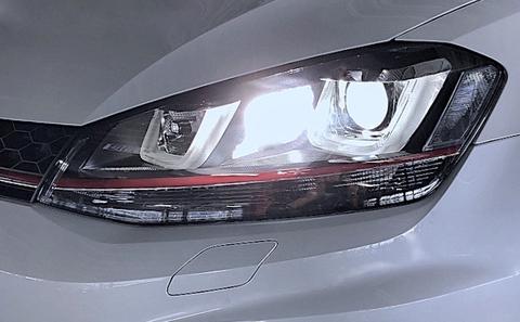 フォルクスワーゲン ゴルフ7GTI/COBコーナリングランプ/1200LM~1500LM(ホワイト・イエロー)Golf 7 GTI(AUCHH)