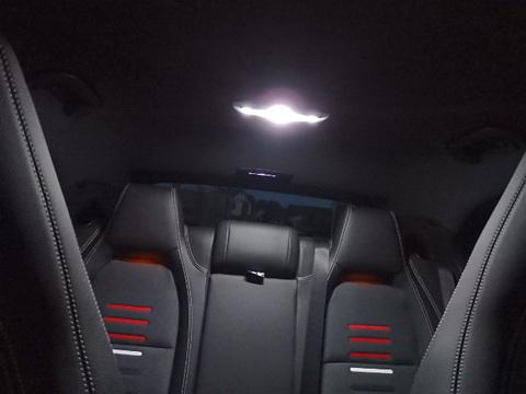 メルセデスベンツ Aクラス W176 前期・後期/Epistar 3030 monster LEDルームランプセット/Benz-A/W176 前期・後期