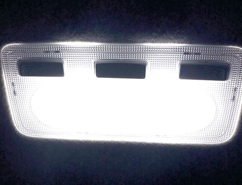 アクア NHP10(前期)/3030 monster LEDルームランプセット(ホワイト昼白色/レトロ電球色)AQUA