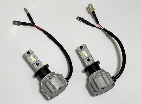 [一体型ポン付け] LEDヘッドライト・フォグランプ(H3)LED 7035 C.S.P/8000lm(6000K・3000K)12V車/24V車 兼用(車検対応)