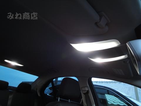メルセデスベンツ Cクラス W204・S204/LEDフロント&リアルームランプ(Type2)Benz-C/W204・S204