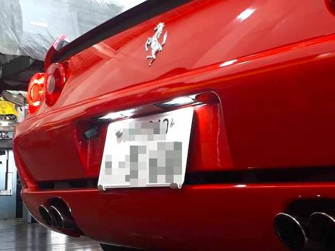 Ferrari F355/5730 Power LED 500LM(6000K)ライセンスランプ/フェラーリ F355ベルリネッタ・GTS・スパイダー