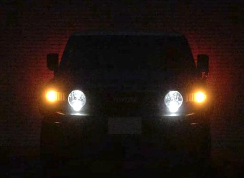 FJクルーザー/ウインカーランプ LED キット(Epistar 2835 SMD)/FJ CRUISER・GSJ15W