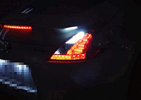 NISSAN FAIRLADY Z/バックランプ専用LED/CSP2020・1200LM/フェアレディZ(Z34・HZ34)