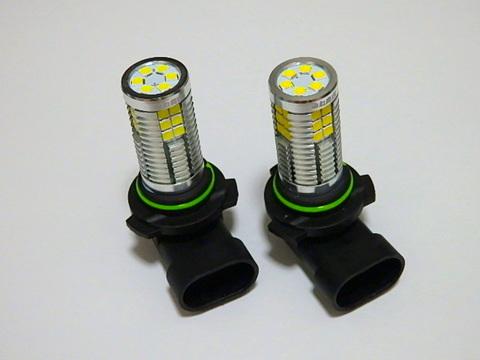 [強烈な輝度 2500ルーメン] LEDフォグランプ/Epistar 3030 LED/2500LM(ホワイト・イエロー)HB4(9006)