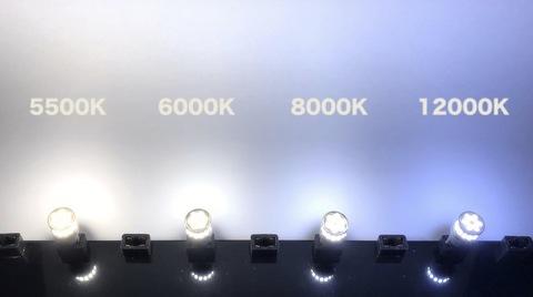 T10/monster 3014 H.L LED(20pcs) 390LM/色温度 K(ケルビン数)別/2個セット(5500K/6000K/8000K/12000K)