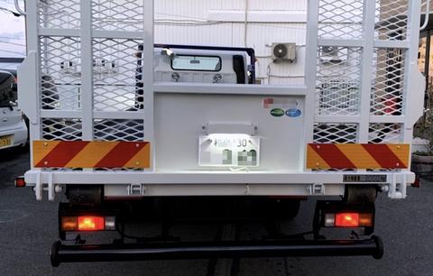 三菱ふそう・キャンター/LEDナンバー灯・Epistar 2835 LED(24pcs) 800LM・6000K/Mitsubishi Fuso Canter(2010年-2020年)