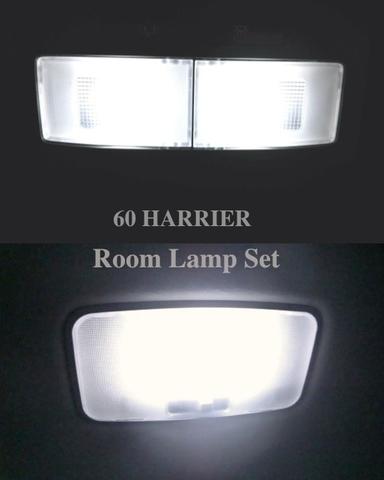 60系ハリアー/2835 Power LED フロント&リアルームランプ!! 60 HARRIER/AVU65・ZSU6# (前期)
