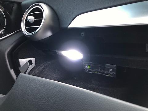 メルセデスベンツ Cクラス W205/Epistar 3030 monster LEDラゲッジ&グローブボックスランプ/Benz-C/W205