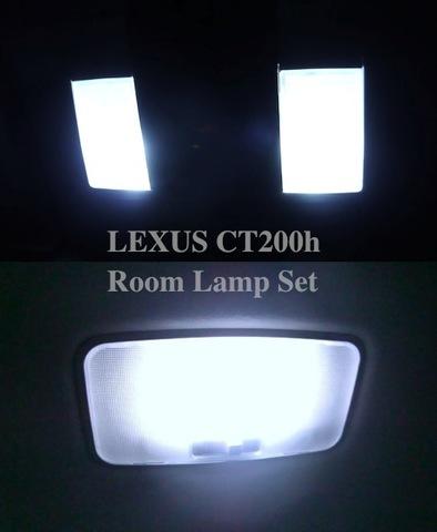 レクサスCT(前期・中期・後期)1080ルーメン monster LEDルームランプセット/LEXUS CT200h/ZWA10