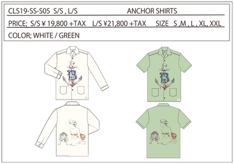 CLS19 ANCHOR SHIRTS