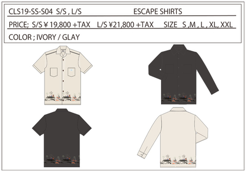 CLS19 ESCAPE SHIRTS