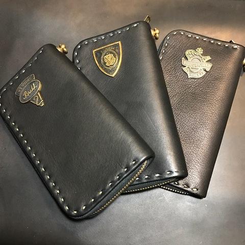 Deer Skin Zip Wallet