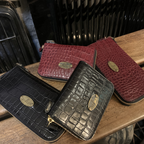 ZIP WALLET TYPE2 Crocodile Crocodile