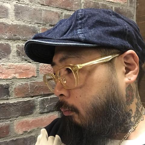 DENIM HUNTING HAT