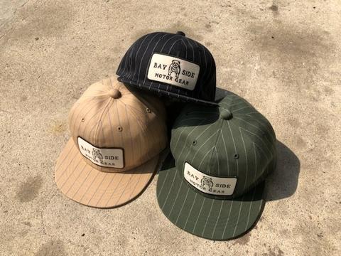 B.S.M.G. STRIPE BASEBALL CAP