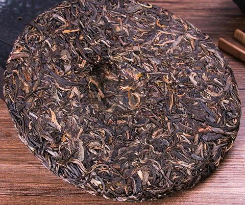 プーアル生茶(普洱茶)