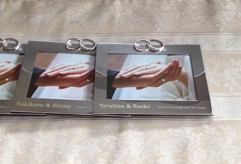 【Bridal Photo Frame】リングフォトフレーム