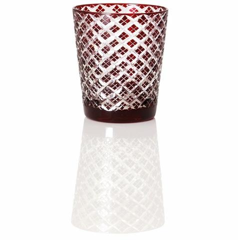 hishiロックグラス 赤・青