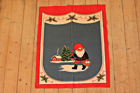 クリスマスタペストリー/サンタのおつかい