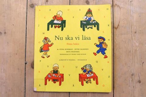 NU SKA Vi LÄSA スウェーデン語の低学年用国語教科書(Ingrid Vang Nyman挿絵)