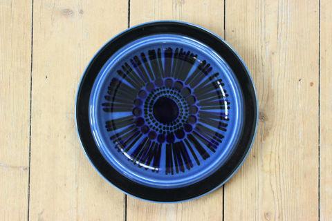 ARABIA(アラビア)/KOSMOS(コスモス/ブルーコスモス)デザートプレート20cm2