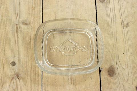 Nuutajarvi(ヌータヤルヴィ)Pripps(プリップス)のクリスタルトレイ/アッシュトレイ/灰皿 2