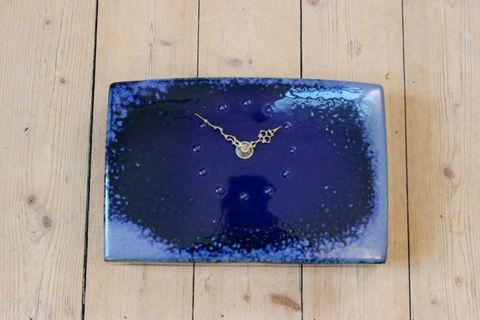 *超レア*Rorstrand(ロールストランド)/Carl Harry Stålhaneデザインの陶器の時計(アトリエ作品)
