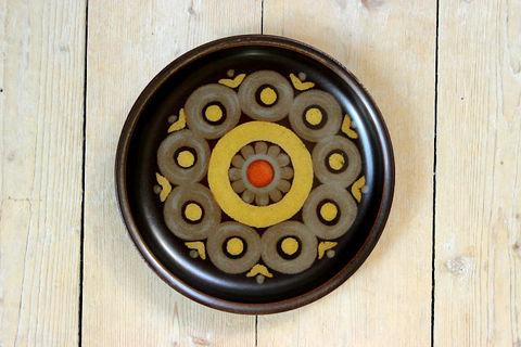 DENBY( デンビー) /ARABESQUE (アラベスク)ケーキプレート17cm