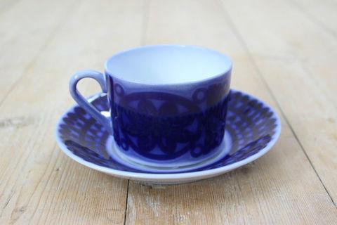 GUSTAVSBERG(グスタフスベリ)/Bla husar(ブローヒューサール)コーヒーカップ&ソーサー3