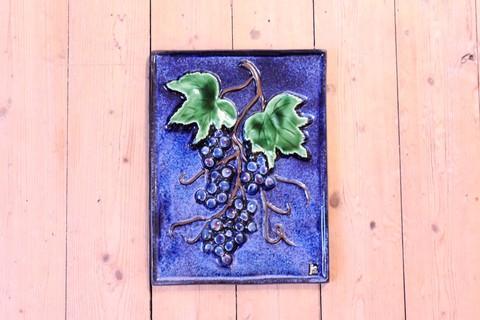 Jie Gantofta(ジィ・ガントフタ)AIMOのブドウの陶板画(XL)