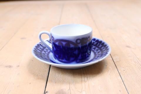 GUSTAVSBERG(グスタフスベリ)/Bla husar(ブローヒューサール)コーヒーカップ&ソーサー4
