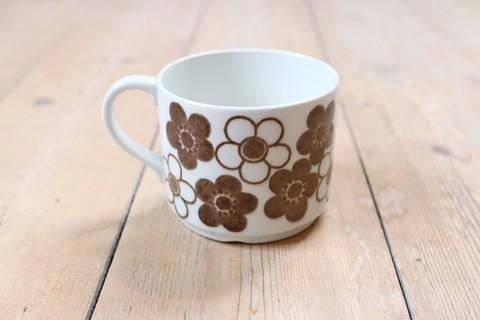 Rorstrand(ロールストランド)/Anemon(アネモン)コーヒーカップ(ブラウン)