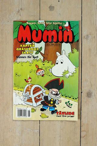 MUMIN(ムーミン)スウェーデン語マガジン(カラー)2000年6号