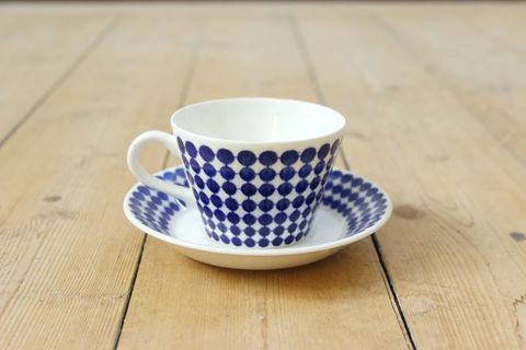 GUSTAVSBERG(グスタフスベリ)/Adam(アダム)コーヒーカップ&ソーサー1