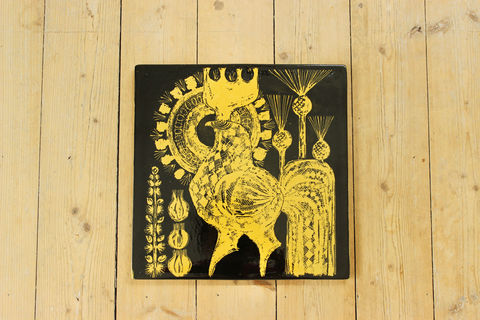 Rorstrand(ロールストランド)/Tupp(雄鶏)の 陶板