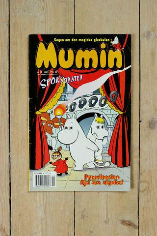 MUMIN(ムーミン)スウェーデン語マガジン(カラー)1999年12号