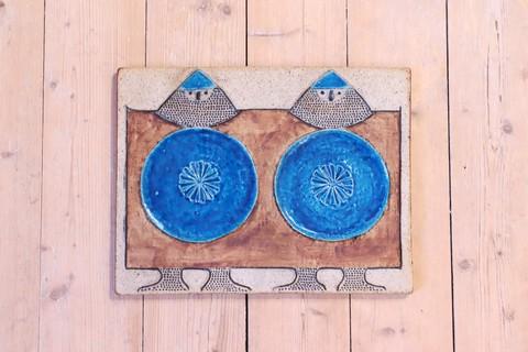 Rorstrand(ロールストランド)/Inger Perssonの Viking(バイキング)の陶板