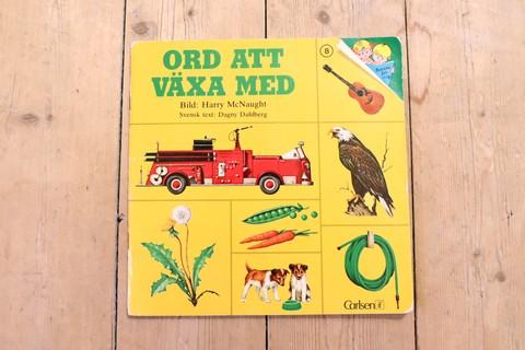 ORD ATT VÄXA MED スウェーデン語の言葉の絵本