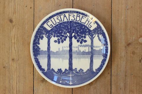 GUSTAFSBERG(グスタフスベリ)150周年記念プレート
