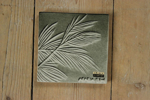 *希少*ARABIA(アラビア)Maj-Britt Heilimoデザイン 陶器タイル コレクターズピース
