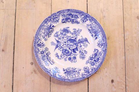 OLD GUSTAVSBERG(オールドグスタフスベリ)/FASAN(ファサン)プレート20.5cm(ブルー)1