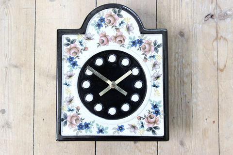 GUSTAVSBERG(グスタフスベリ)B.L. Sundell(ブリト・ルイス・サンデル)陶器の時計