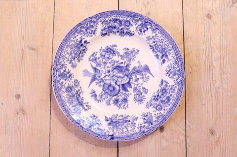 OLD GUSTAVSBERG(オールドグスタフスベリ)/FASAN(ファサン)プレート20.5cm(ブルー)2