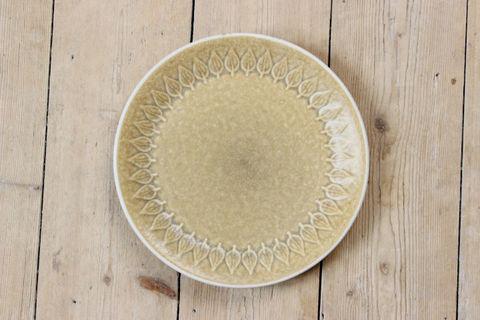*希少*Jens.H.Quistgaard(イェンス・クイストゴー)/Leaf(リーフ)デザートプレート20cm(Kronjyden窯)6