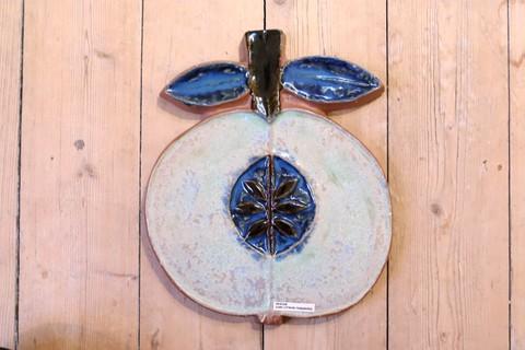 *超レア*Jie Gantofta(ジィ・ガントフタ)リンゴモチーフの陶板