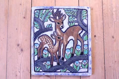 *レア*Nittsjo(ニットショー)/THOMAS HELLSTROMデザイン トナカイの陶板