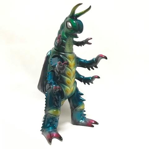 宇虫怪獣 グモーズ(緑)