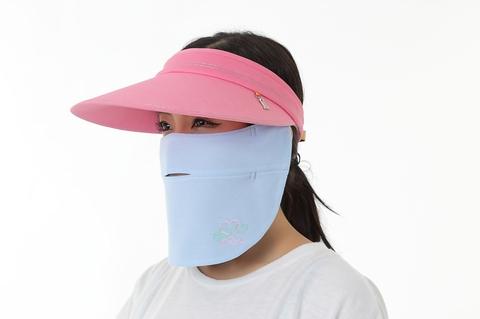 ドレスマスク スポーツ スカイブルー&ネイビー
